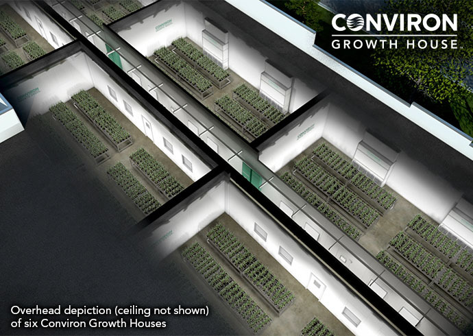Conviron Growth House™ Overhead Image