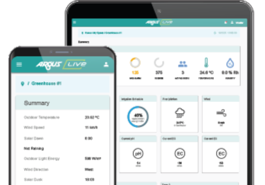 argus-live-user-interface