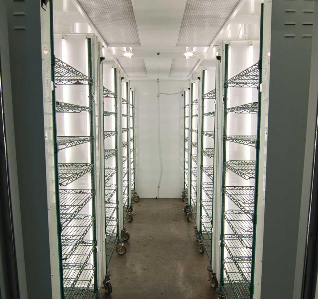 High Throughput Germination Room