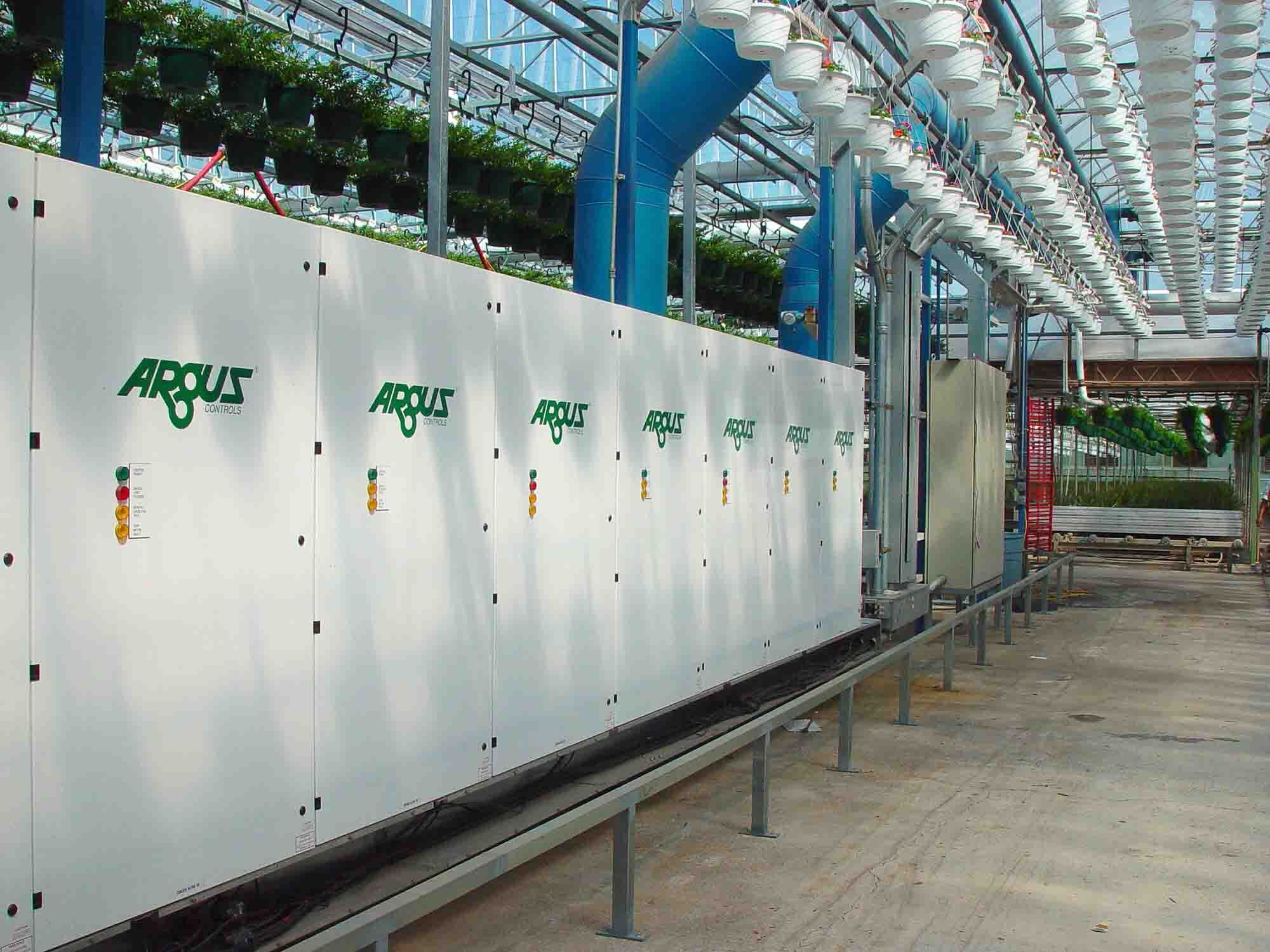 Argus Controls on Greenhouse