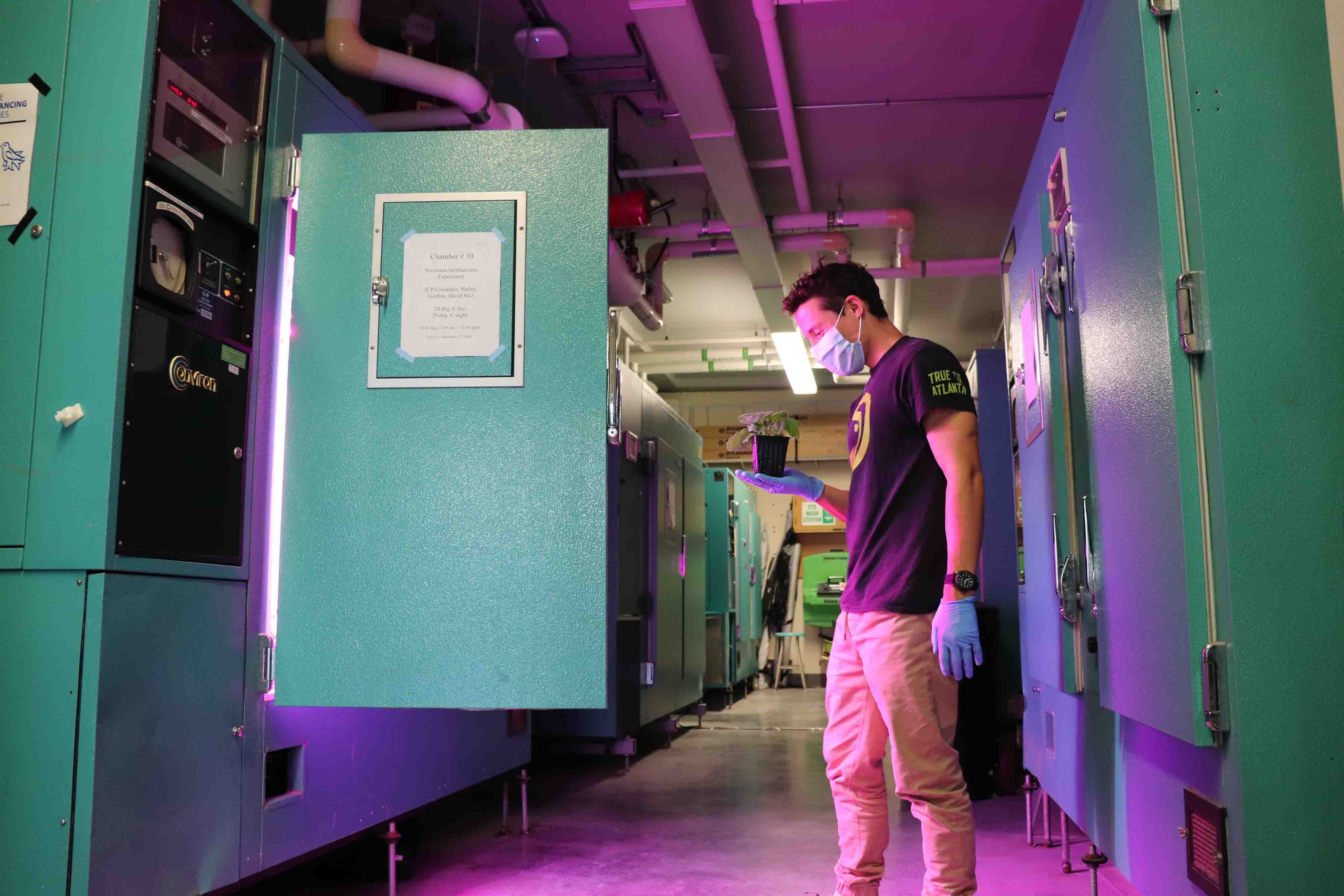 University of Victoria Plant Growth Chamber
