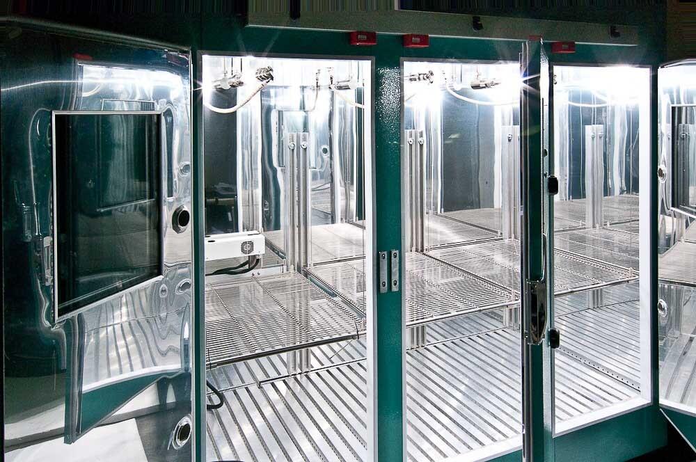 Xenon Lit Plant Growth Chamber